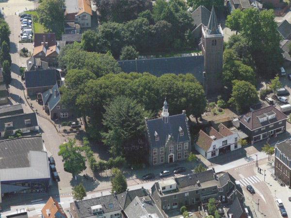 Maak een luchtreis boven Castricum