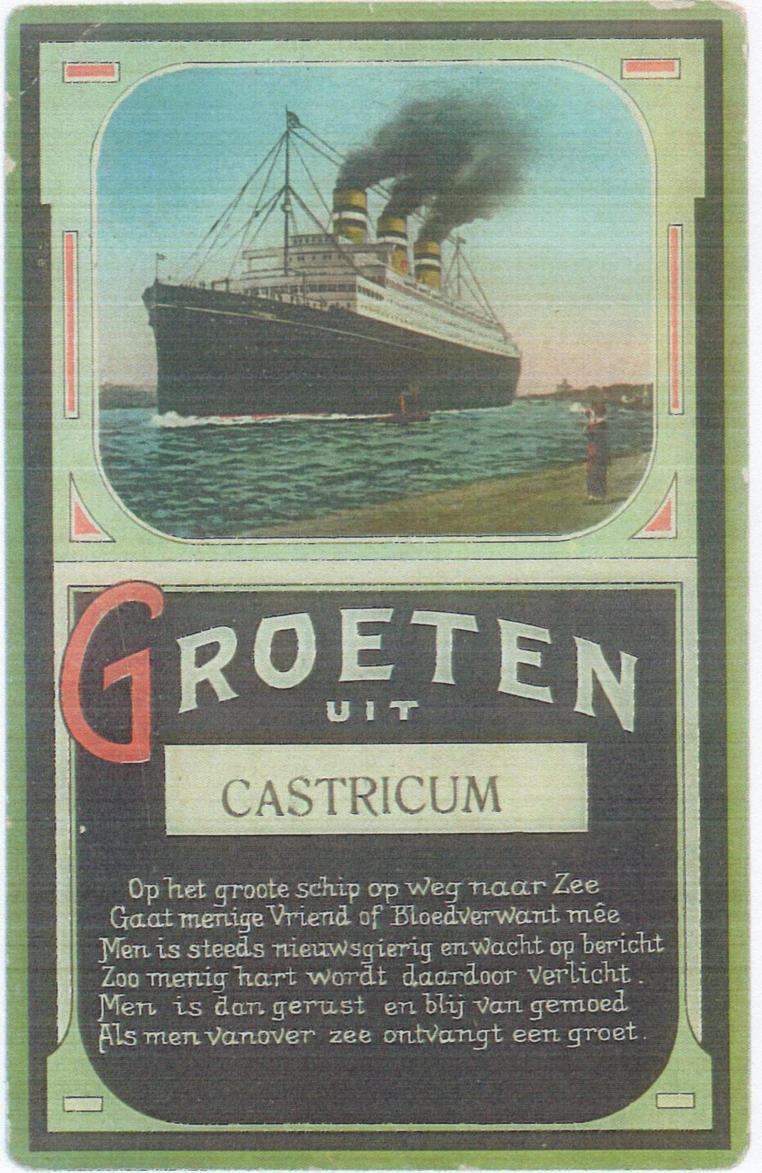 Groeten uit Castricum?