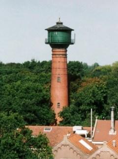 De huidige verschijningsvorm van de watertoren.