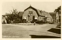 De wagenmakerij hoek Bakkummerstraat en Van der Mijleweg (1939)