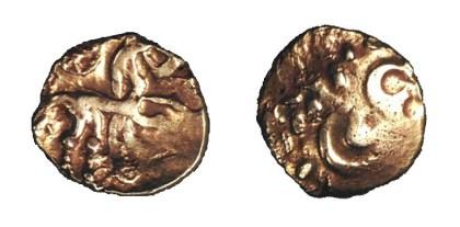 Gouden Stater van de Nervii  (58-57 v.C.)