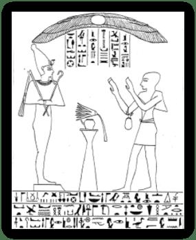 Grafstèle van een choachiet
