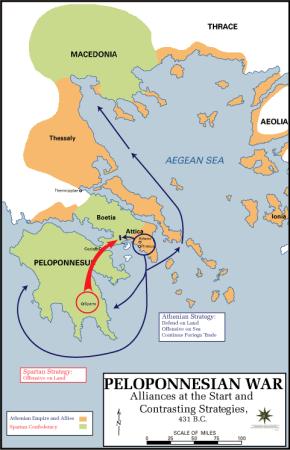 Peloponnesische Oorlog