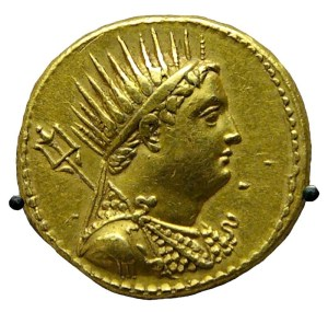 Octodrachme van Ptolemaios III