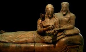 De 6de-eeuwse 'sarcofaag van de echtgenoten': de Etrusken op het hoogtepunt van hun macht