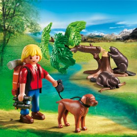 PLAYMOBIL_5562_Beavers with Backpacker