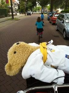 Handig voor het vervoer van judoberen