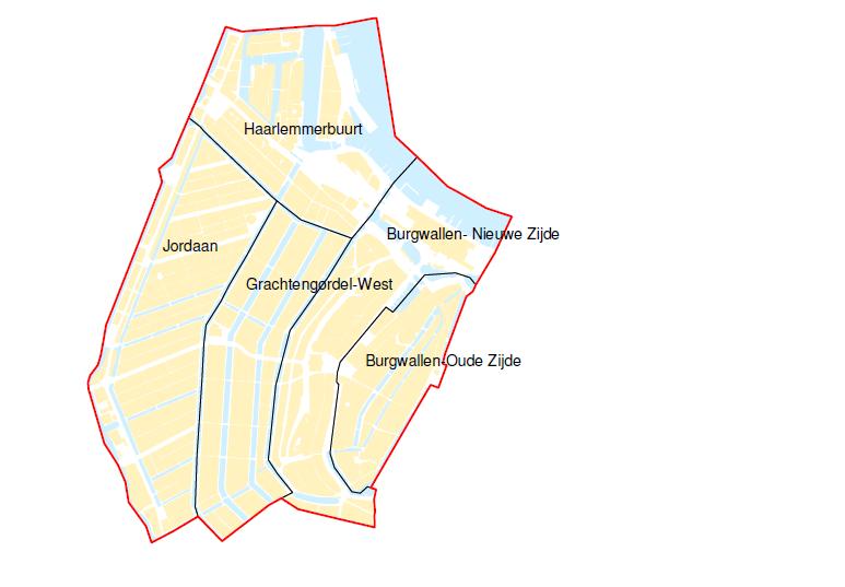 Verkiezing Centrum-west