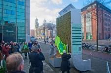 De oficiële opening door Pieter Litjens en Jeanine van Pinxteren