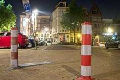 De gebruikelijke (TTO) taxistandplaats is onklaar gemaakt.