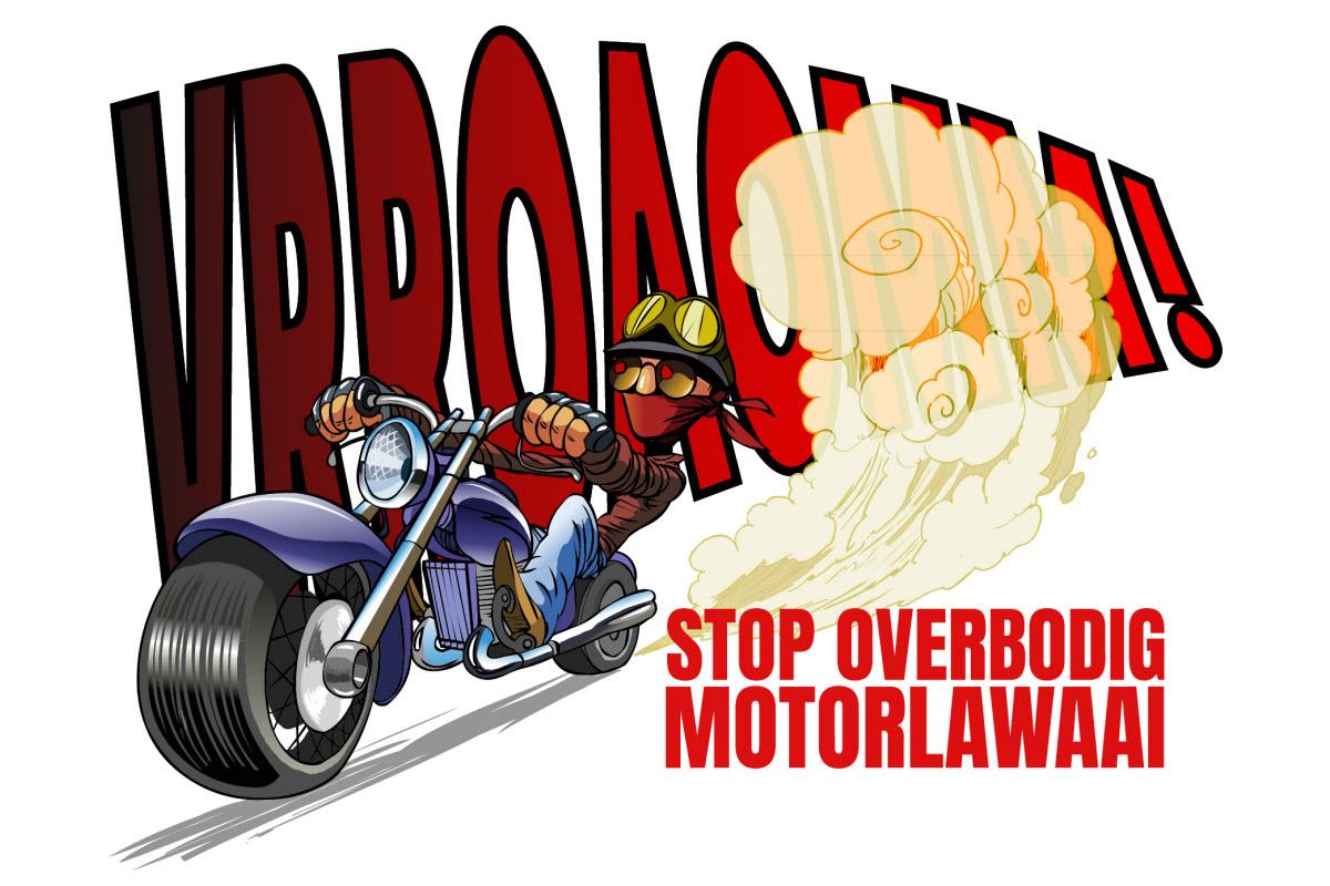 Petitie: motorlawaai