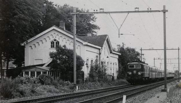 Station Houten in 1980