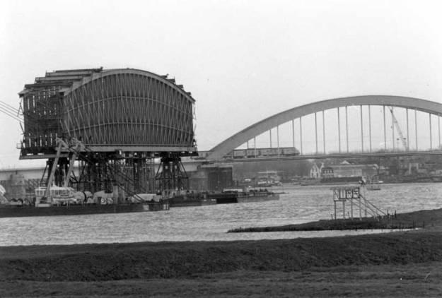 Lekbrug Culemborg vervangen door moderne brug