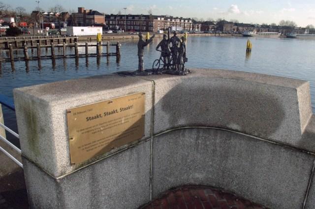 Monument Februaristaking Zaandam
