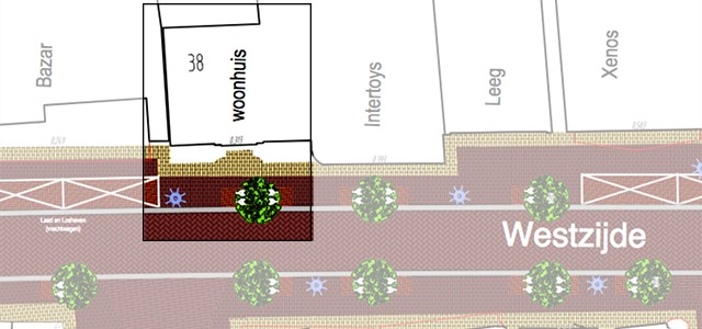 Plaatsing boom voor Westzijde 38 gaat niet door
