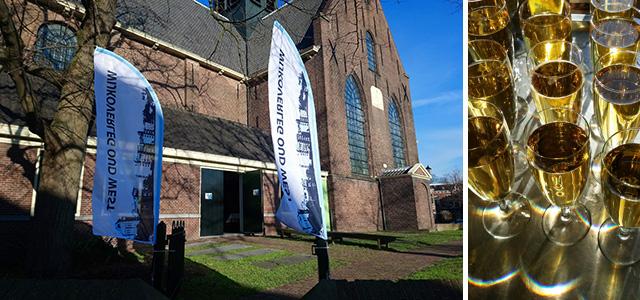 Geslaagde nieuwjaarsreceptie Oud-West in de Bullekerk