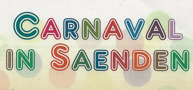 Carnaval vieren in Saenden, komt u ook?