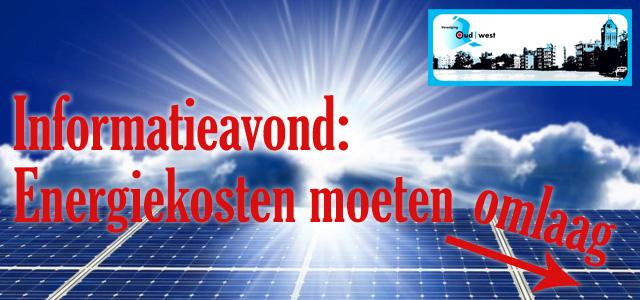 GEANNULEERD: Informatie-avond over energiekosten