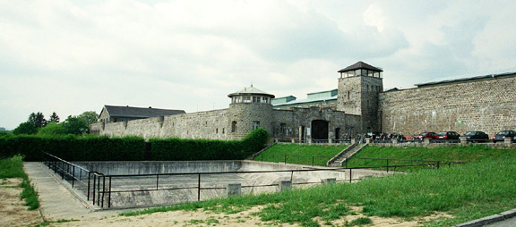 Entrance to KZ Mauthausen