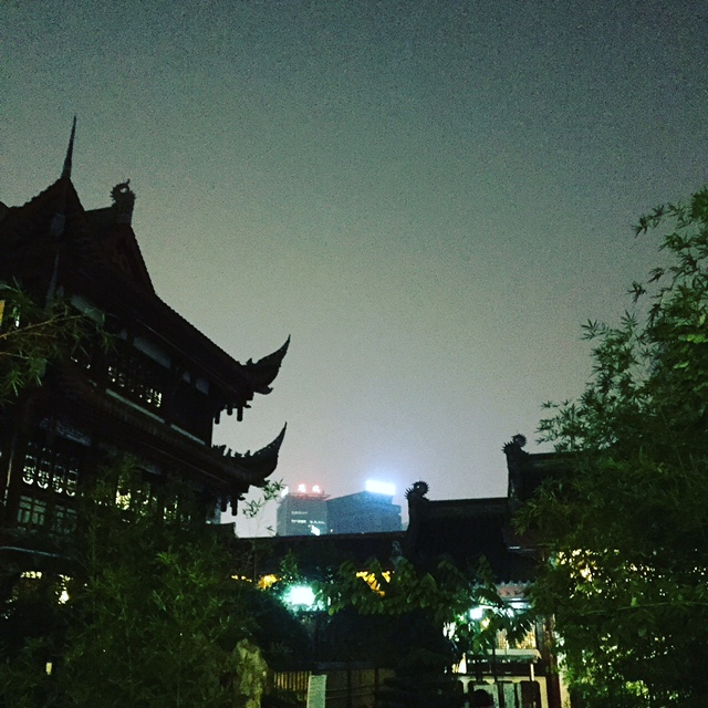 New old and new new Chengdu