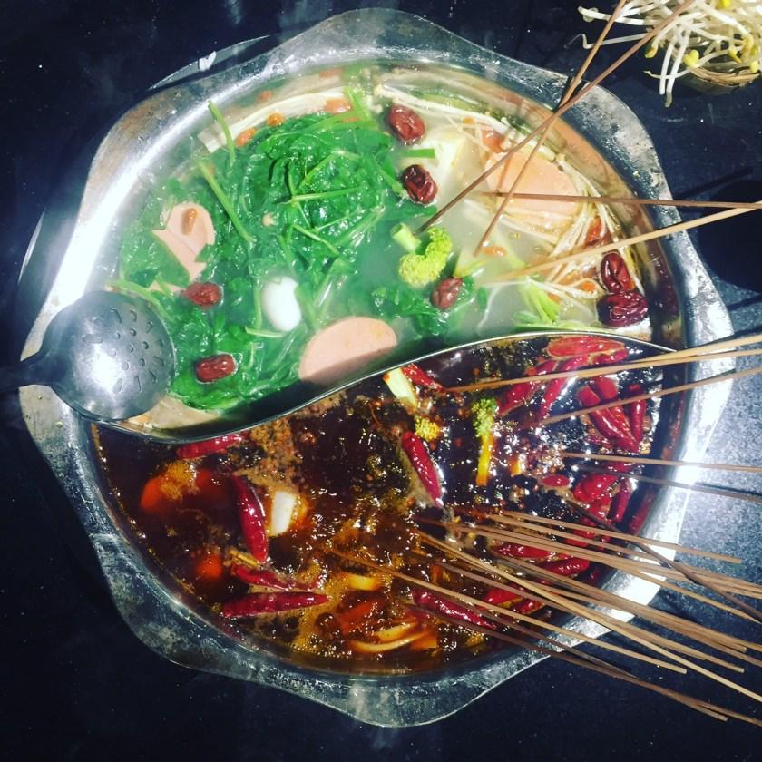 Sichuan hotpot.. hot or not?