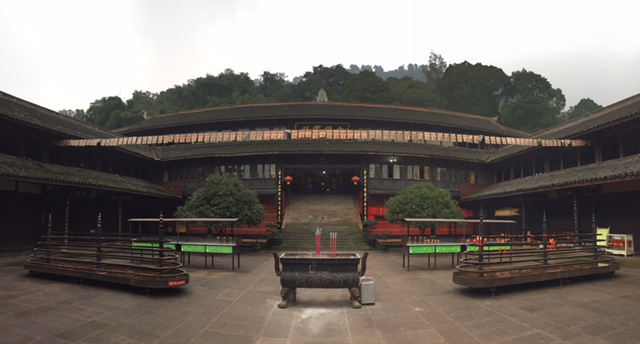 Fuhu temple at Emeishan