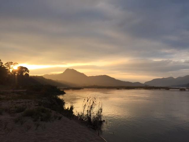 The mighty Mae Nam Khong river
