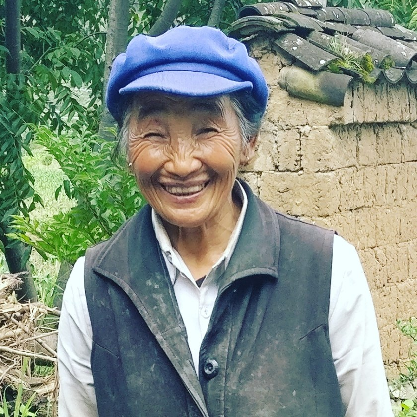 Naxi lady with the best smile ever