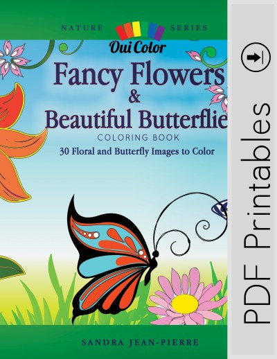 Fancy Flowers & Beautiful Butterflies (PDF Book)
