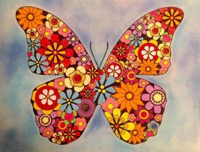 RondaFFlowerButterflies1