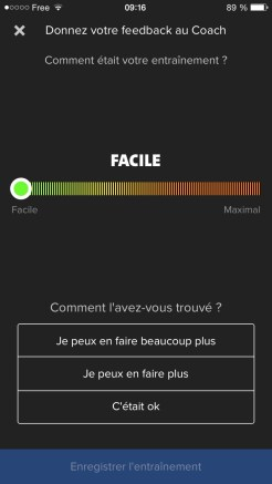 Feedback Coach : Facile