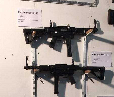 Des FASS 57 Commando, mais en 45 ACP ...