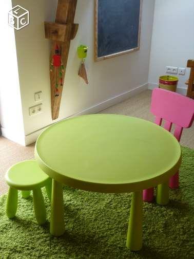 Ikea Chaise Et Table Enfant Ouistitipop