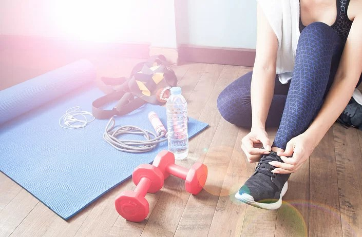 Workouts for weight loss and a healthy lifestyle