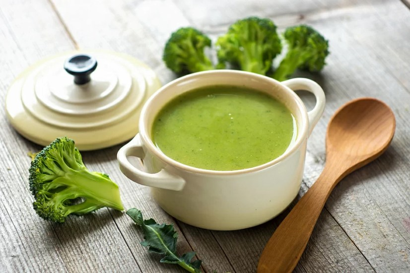 Broccoli, broccoli soup