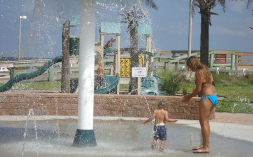 Splash Park at the St Johns County Pier