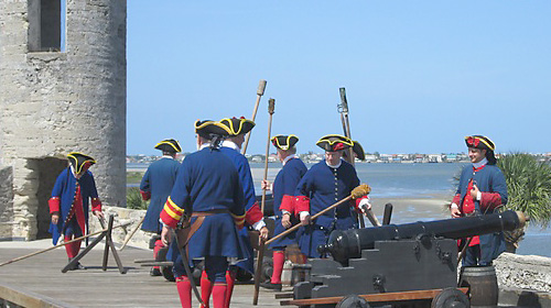 Soldiers at Fort