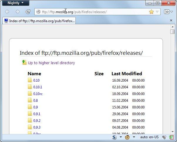 Как вернуть предыдущую версию Mozilla Firefox_3