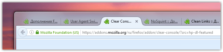 Firefox tabs like in Chrome and Opera (5)
