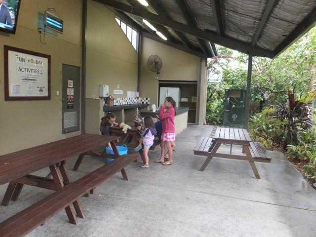 Camp kitchen Big 4 Gold Coast Holiday Park