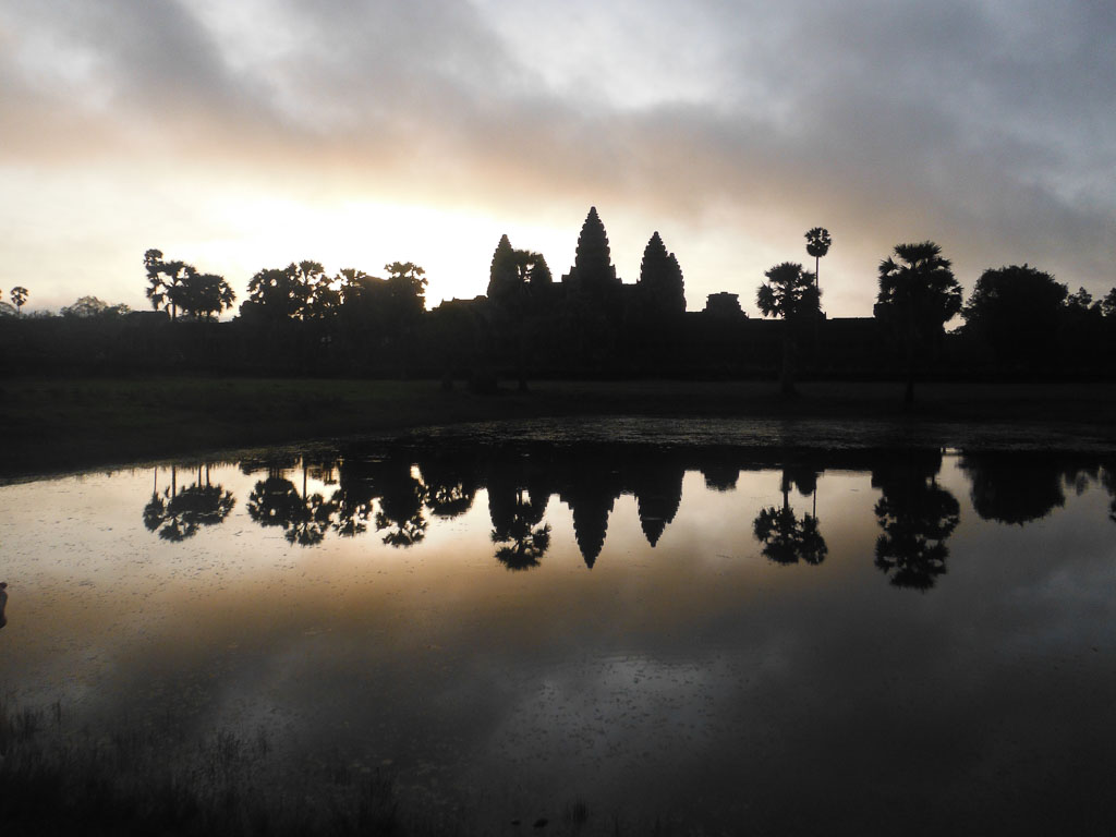 Angkor Wat at sunrise, breathtaking