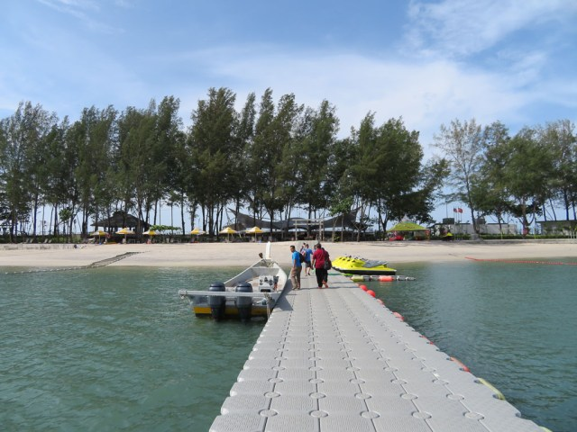 Paradise 101 arrival jetty