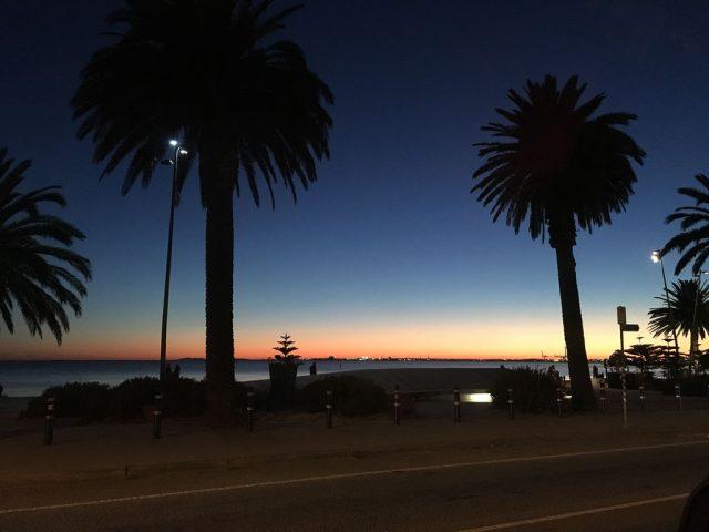 Sunset, St Kilda