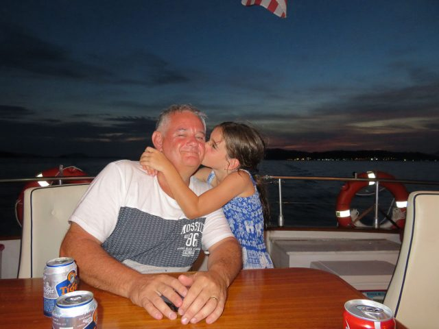 Everyone loves Dad!