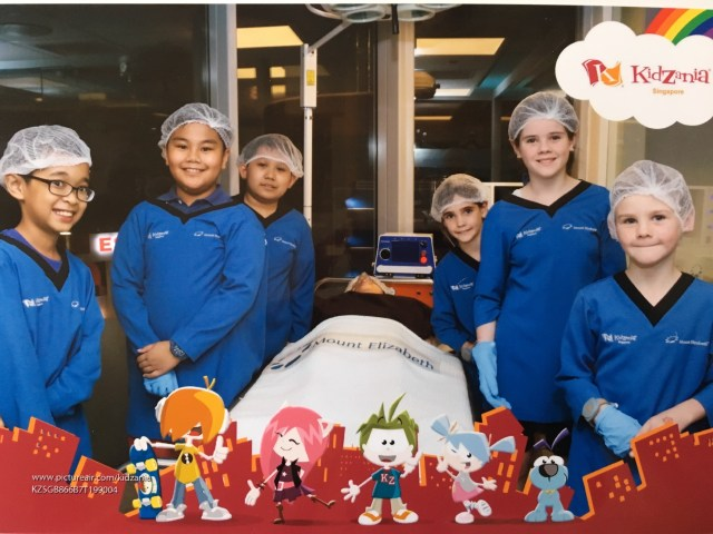 KidZania - operating theatre