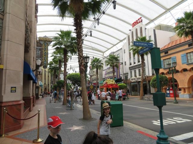 Main Street, Universal Studios Singapore