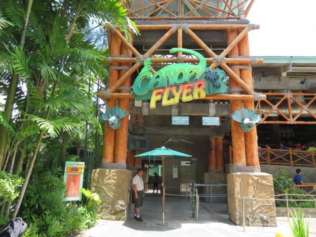 Canopy Rider - Universal Studios Singapore