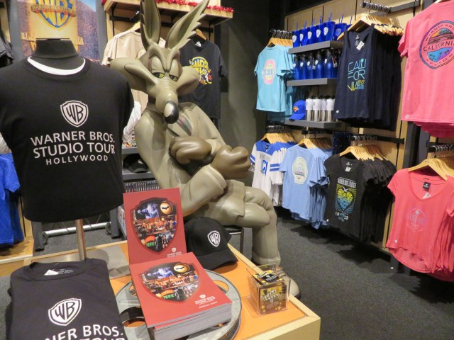 warner Brothers studio tour