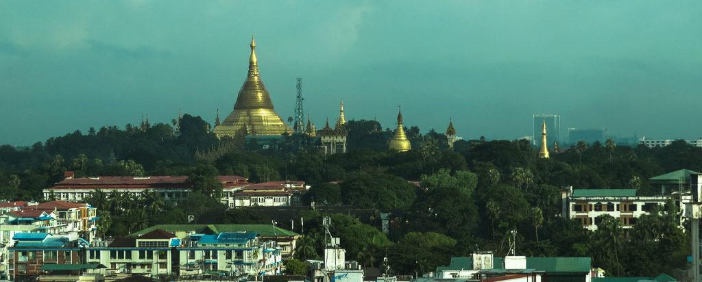 Sule Shangri-La, a luxury hotel in Yangon Myanmar