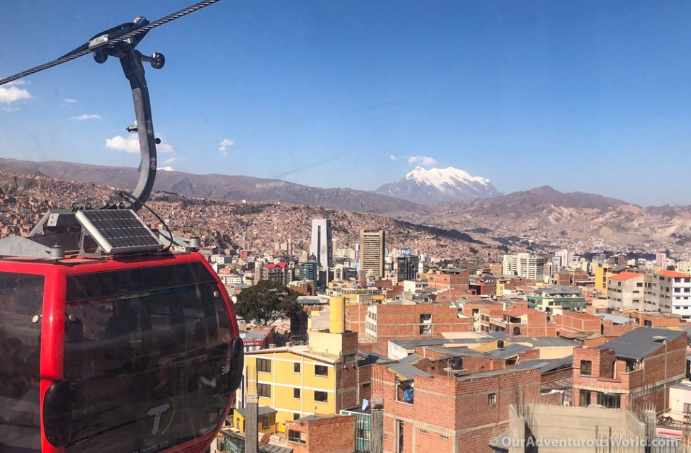 Views over La Paz